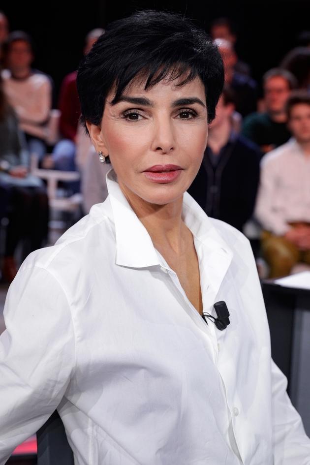 """Rachida Dati sur le plateau de """"L'Emission politique"""" de France 2, le 24 janvier 2019 à Saint-Cloud"""
