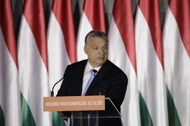 Le Premier ministre hongrois Viktor Orban, le 5 avril 2019 à Budapest