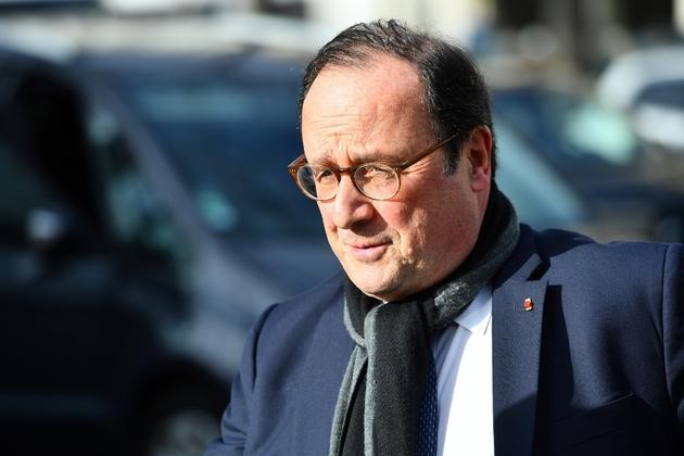 L'ancien président François Hollande à Paris le 11 février 2020