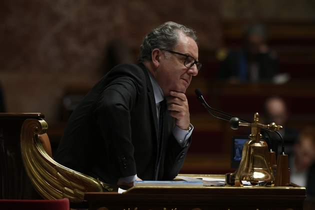 Richard Ferrand à l'Assemblée nationale à Paris le 8 octobre 2019