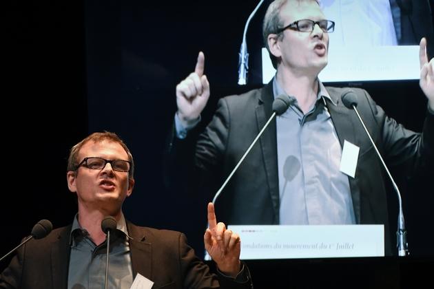 Guillaume Balas, au congrès fondateur de Générations en décembre 2017