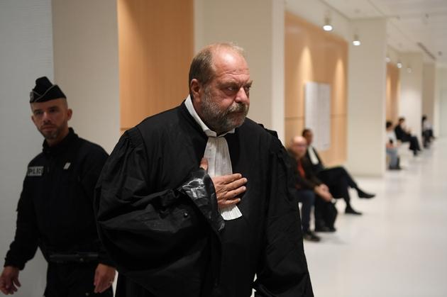 L'avocat de Patrick Balkany, Eric Dupond-Moretti, le 13 septembre 2019 au tribunal de Paris