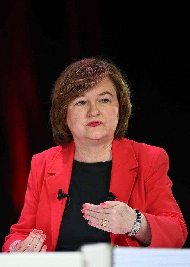 Nathalie Loiseau, tête de liste LREM aux élections européennes, le 11 avril 2019 à Paris