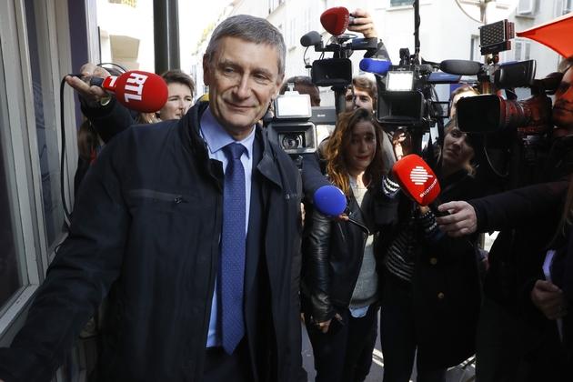 Frédéric Péchenard le 12 octobre 2016 à Boulogne-Billancourt