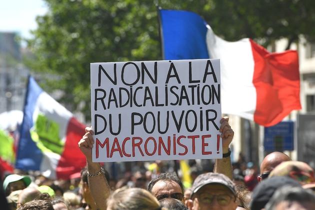 """Manifestation de """"gilets jaunes"""", le 4 mai 2019 à Marseille"""
