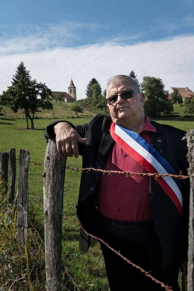 Daniel Cassard, maire de Belmont et président de l'Association des maires ruraux du Doubs, le 11 septembre 2019