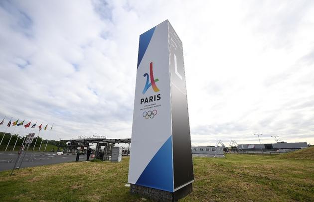 Le village des médias sera érigé sur le site de Paris-Le Bourget, vu ici lors de l'inspection du CIO le 15 mai 2017
