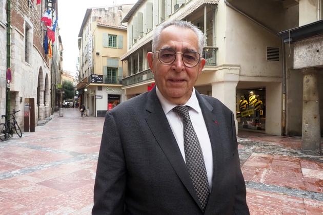 Le maire LR sortant Jean-Marc Pujol, candidat aux municipales, le 27 janvier 2020 à Perpignan