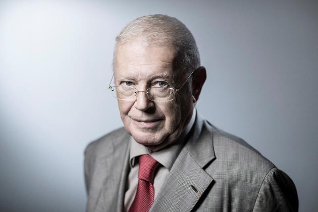 Michel Charasse, membre du Conseil Constitutionnel, en 2018 à Paris