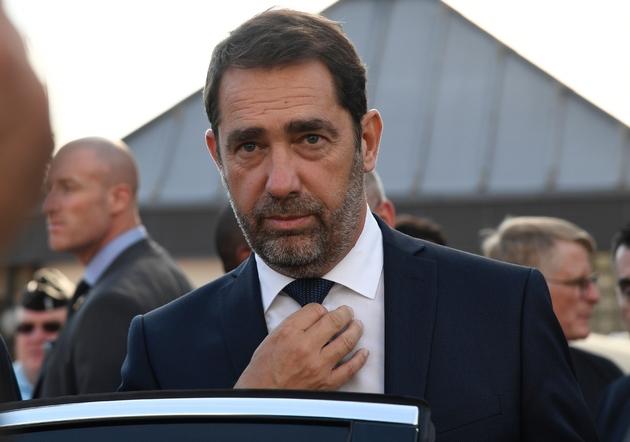 Le ministre de l'Intérieur Christophe Castaner, le 16 october 2018 à Fosses