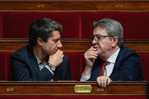 François Ruffin et Jean-Luc Mélenchon à l'Assemblée nationale, le 5 février 2019