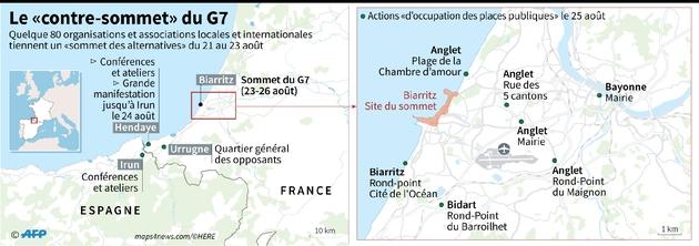 """Le """"contre-sommet"""" du G7"""