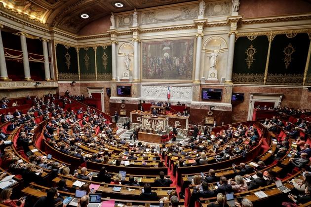 L'Assemblée nationale, le 9 avril 2019
