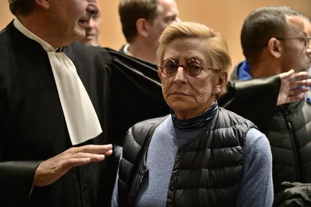Isabelle Balkany au tribunal à Paris le 18 octobre 2019 après sa condamnation pour blanchiment