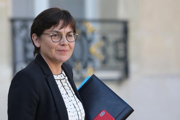 Annick Girardin, ministre des Outre-Mer et membre du Mouvement radical, le 27 février 2019 à Paris