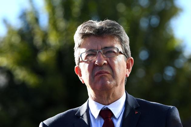Jean-Luc Mélenchon, le 11 octobre 2017 à Grenoble