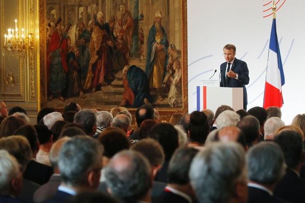 La France assumera la présidence du G7 en 2019 et proposera de l'ouvrir à un dialogue entre l'Europe, le Japon, les Etats-Unis et la Chine, a affirmé Emmanuel Macron