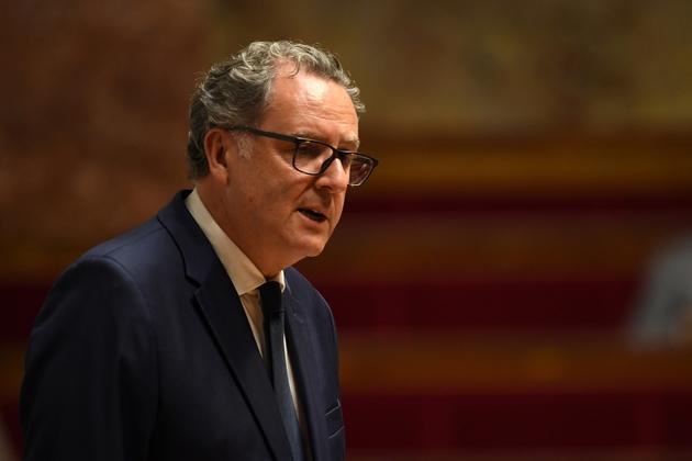 Richard Ferrand prononce son discours au perchoir le 12 septembre 2018
