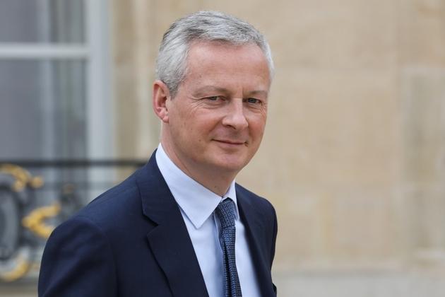 Le ministre de l'Economie Bruno Le Maire, photographié le 20 mars 2019 à l'Elysée à Paris, défendra le projet de loi créant la taxe Gafa au Parlement