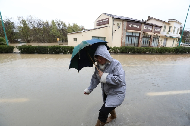 15 départements  touchés par une tempête hivernale, le 1er mars 2020