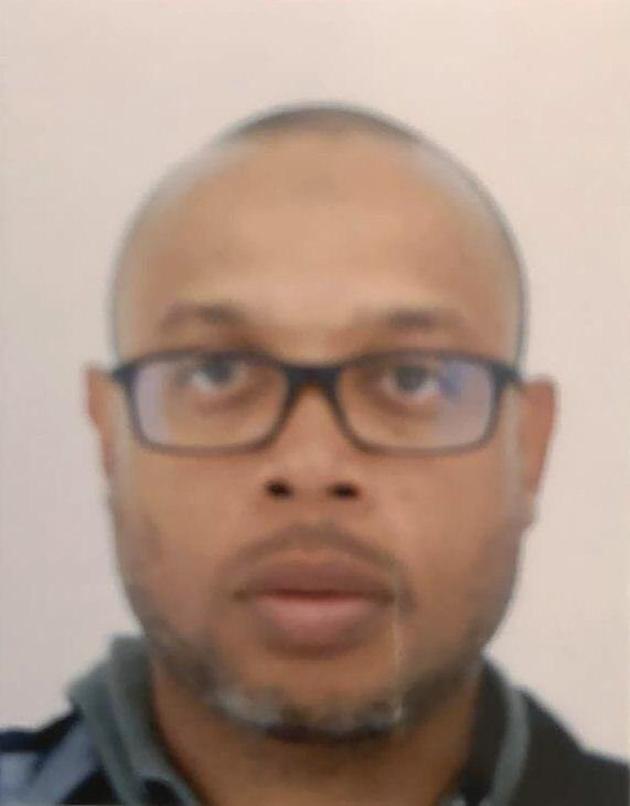 Photo non datée de Mickael Harpon, l'informaticien qui a assassiné 4 personnes au sein de la préfecture de police de Paris le 3 octobre 2019 avant d'être tué