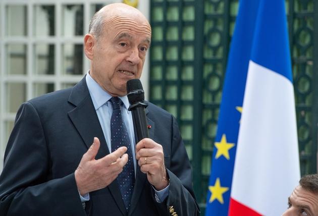 Alain Juppé à la préfecture de la Gironde à Bordeaux, le 1er mars 2019