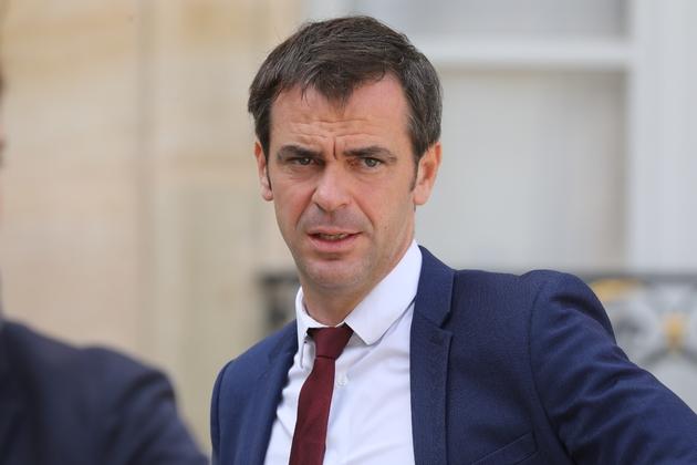 Olivier Véran, rapporteur général LREM de la commission des affaires sociales de l'Assemblée nationale, à l'Elysée, le 18 septembre 2018