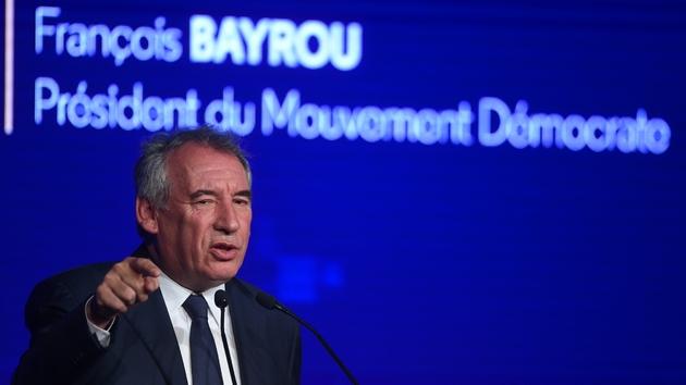 Le président du MoDem François Bayrou à Guidel, le 29 septembre 2019