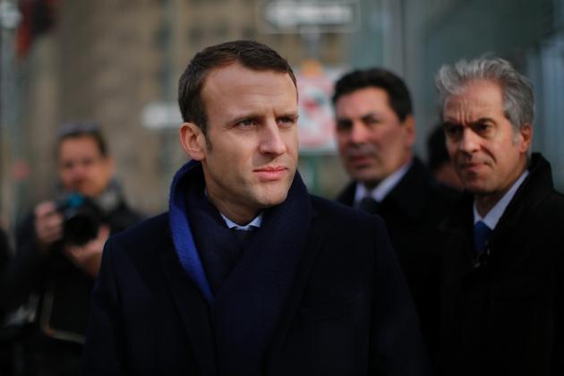 Emmanuel Macron le 6 décembre 2016 à New York