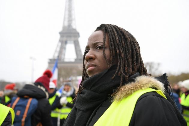 Priscillia Ludosky , le 20 janvier 2019, à Paris