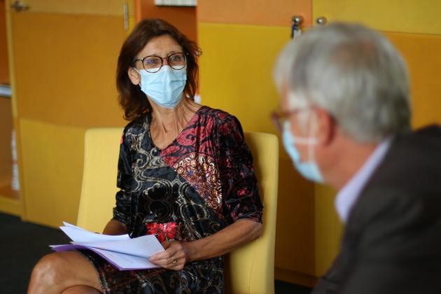 Fabienne Baas, maire écologiste d'Ostwald.
