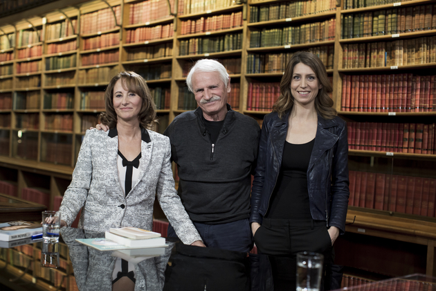 Livres & vous, Ségolène Royal et Yann-Arthus Bertrand s'entretienne avec Adèle Van Reeth