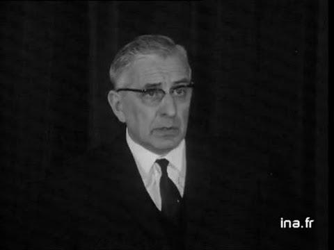 Marcel Barbu candidat à l'élection présidentielle de 1965