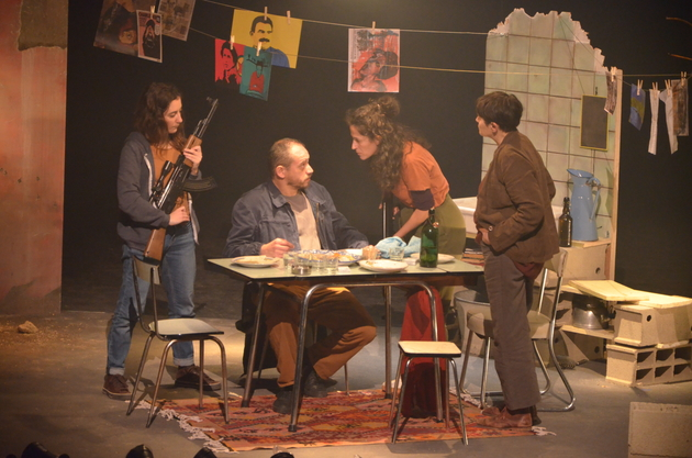 """""""La Guerre des filles"""", mise en scène par Vanessa Sanchez"""