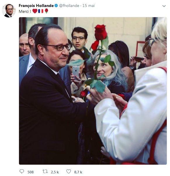 François Hollande départ