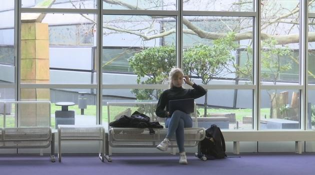 Romy, étudiante à la Freie Universität