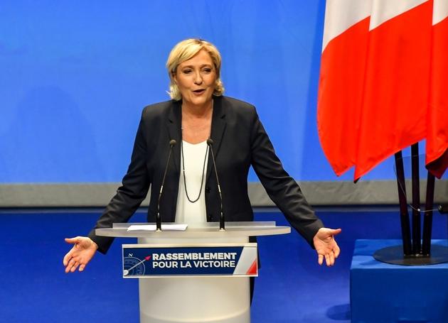 Marine le Pen au congrès dernier congrès du FN