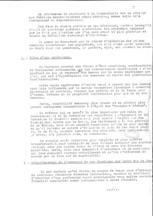 Questionaire de la magistrature page 7