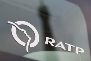 Logo de la RATP le 2 décembre 2015