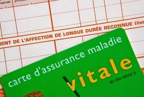 FRANCE:  Assurance maladie-illustration