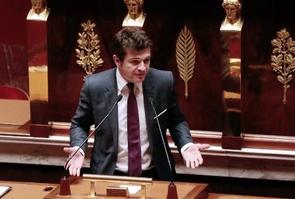Benoist Apparu le 10 septembre 2013 à l'Assemblée nationale à Paris