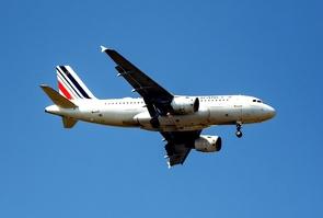 EasyJet et Air France au dessus de Nice