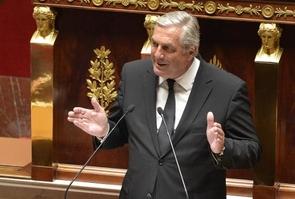 Francois Sauvadet le 8 avril 2014 à l'Assemblée nationale à Paris