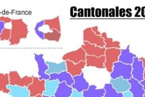 Carte résultats cantonales