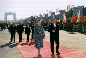Le couple Ceausescu