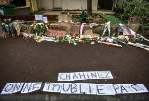Tribute to Chahinez, killed by her husband in Merignac.