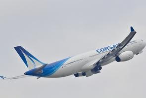 Un A330 de la compagnie Corsair