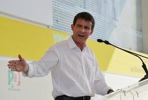 Le Premier ministre Manuel Valls, le 7 septembre 2014 à Bologne