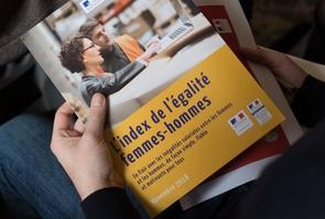 PARIS: Penicaud commente l'index de l'egalite femmes-hommes