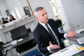 François de Rugy en entretien avec Hélène Risser (Hashtag - Public Sénat)